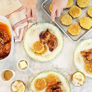 Crisp Butter Roasted Chicken.