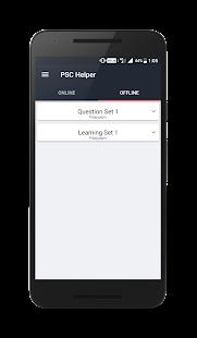 PSC Helper - Offline & Online Questions, Mock Test - náhled