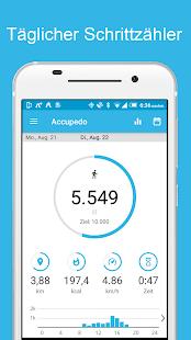 Schrittzähler - Accupedo-Pro Screenshot