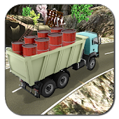 Off Road Cargo Truck Driver Simulator - Drive Hill