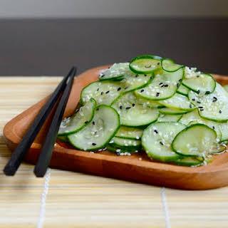 Japanese Cucumber Salad.