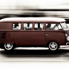 Camper speed by Will Perrin - Transportation Automobiles