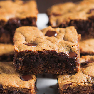 Healthier Chocolate Chip Cookie Bars.