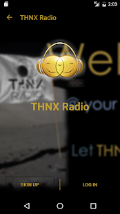 THNX Radio- screenshot thumbnail