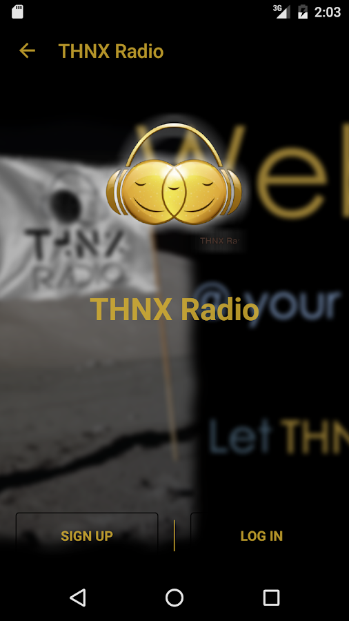 THNX Radio- screenshot
