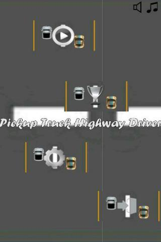 Pickup Truck Highway Driver