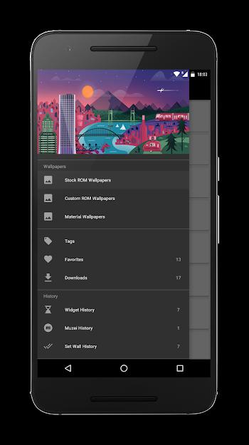 Walloid Pro: HD Wallpapers- screenshot