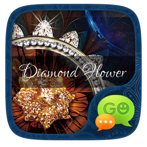 FREEGOSMS DIAMOND FLOWER THEME