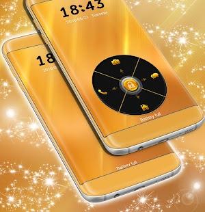 Neon Gold Locker Téma - náhled