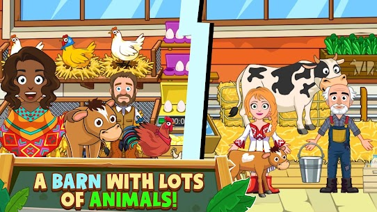 My Town: Farm Life Animals Game MOD APK [All Unlocked] 2