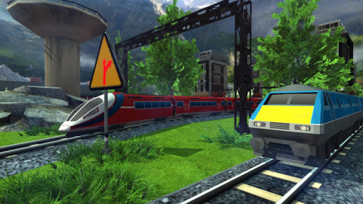 Euro Train Racing 3D screenshot 10