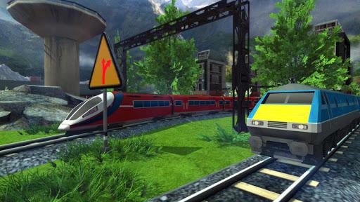 Euro Train Racing 3D screenshot 10