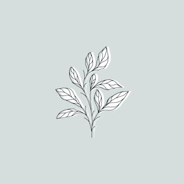 Leafy Botanical - Instagram Highlight template
