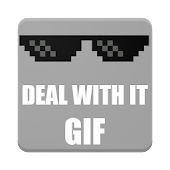 Deal With It - GIF
