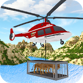 Animal Rescue Heli Transport