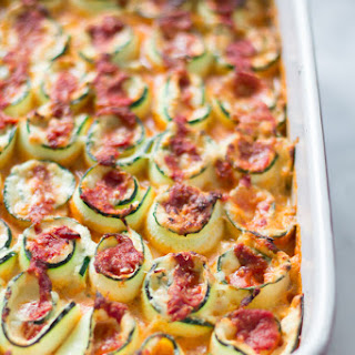 Zucchini Lasagna Roll