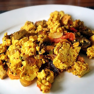 Spiced Tofu Scramble