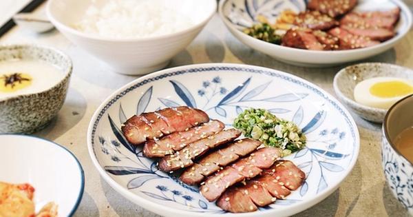 吉村牛舌Yoshimura 隱藏在巷弄的美味厚切牛舌定食。炭烤牛舌專賣店,板橋美食