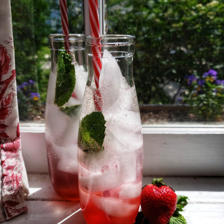 Summer Strawberry Soda