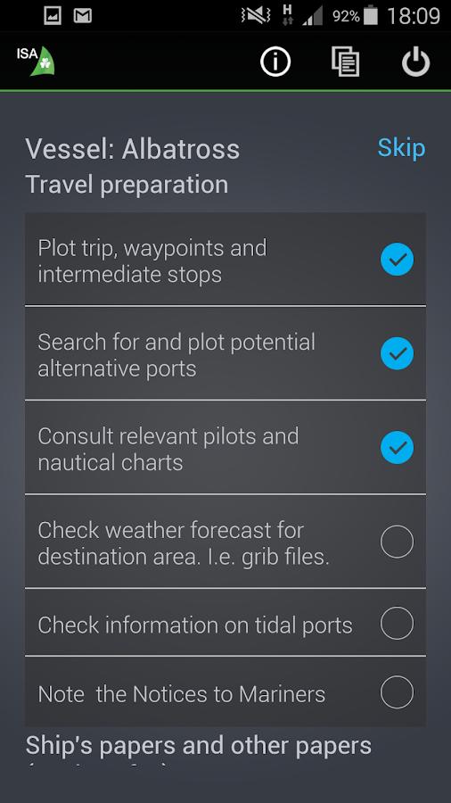 ISA SafeTrx- screenshot