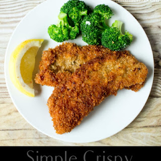 Simple Crispy Pork Cutlets.