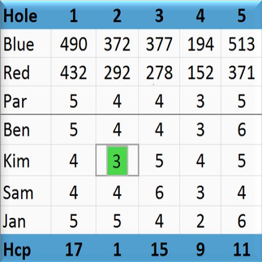 Golf Scorecard 運動 LOGO-玩APPs