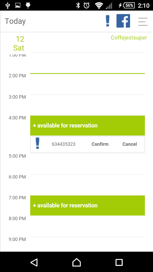 Reservation Last Minute- screenshot