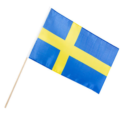Tygflagga, Sverige 45x30cm