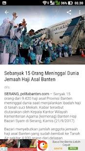 Pelita Banten - náhled
