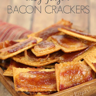 Glazed Bacon Crackers