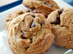 Chewy Peanut Butter Chocolate Chip Cookies Recipe