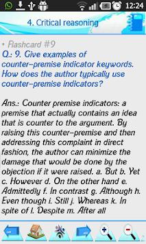 ... مراجعة امتحان GMAT (2000 مسابقة) APK screenshot thumbnail 5 ...