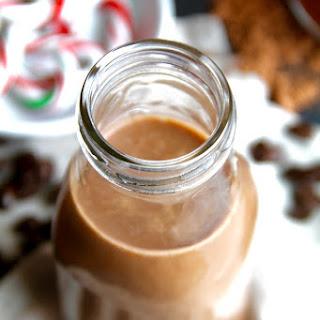 Dairy Free Peppermint Mocha Coffee Creamer