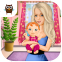 Sweet Baby Girl Newborn Baby icon