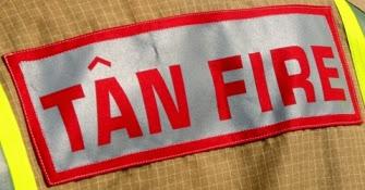 Firefighters tackle Guilsfield blaze