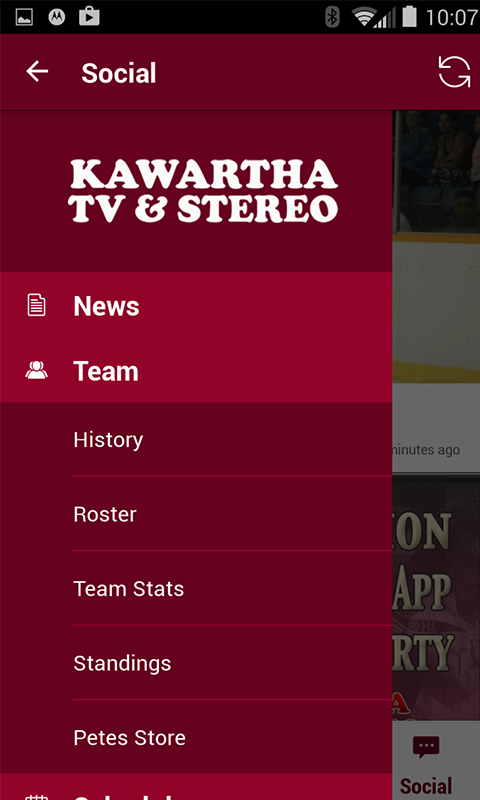 Peterborough Petes- screenshot