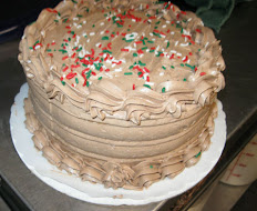"Chocolate Cake For 2 Layer 9"" Cake"