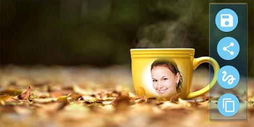 Coffee Cup Mug Photo Frames