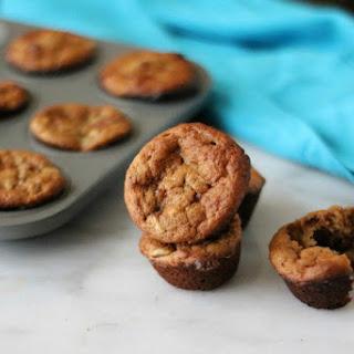 Flourless Banana and Peanut Butter Mini Muffins Recipe