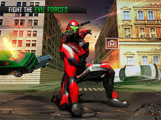Flying Robot Grand City Rescue Giochi (APK) scaricare gratis per Android/PC/Windows screenshot