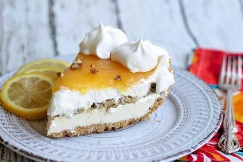 Cream Cheese Lemon Dream Pie