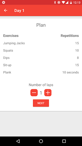 Lose Weight In 21 Days - Home Fitness Workouts  screenshots 4