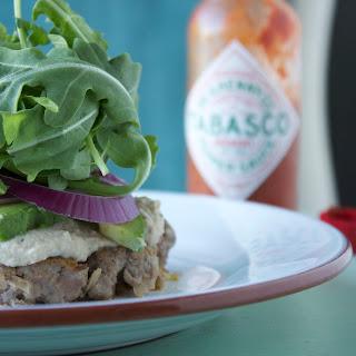 Kimchi Buffalo Burger