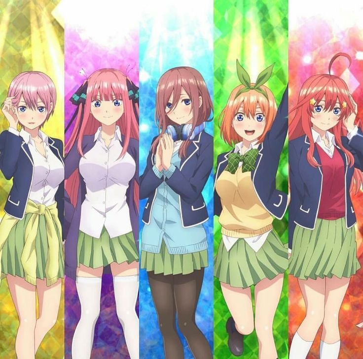 Read The Quintessential Quintuplets / 5-toubun no Hanayome full Manga  chapters in English online! | Cute anime character, Anime siblings, Kawaii  anime