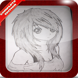 anime girl with brown hair