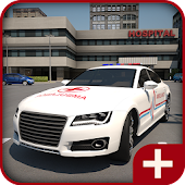 Ambulance Parking 3D 2