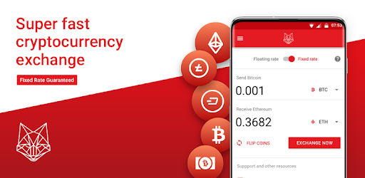 cryptocurrency exchange mobile app