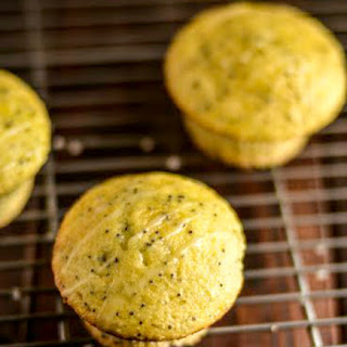Sour Cream Lemon Poppy Seed Muffins.