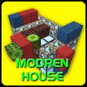 Modern House 2 Build Craft PE icon