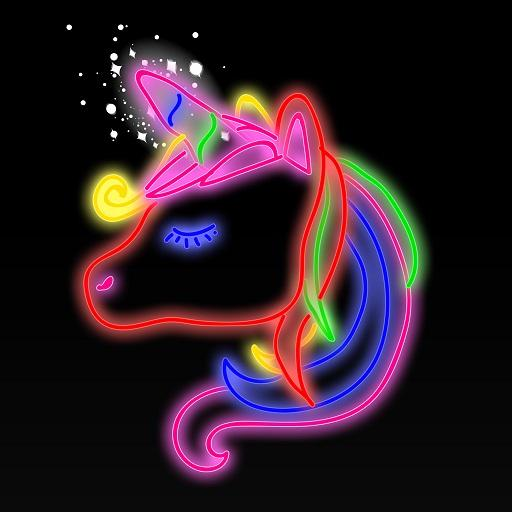 Doodle Coloring - Draw, Magic Joy Color Book Pages Icon